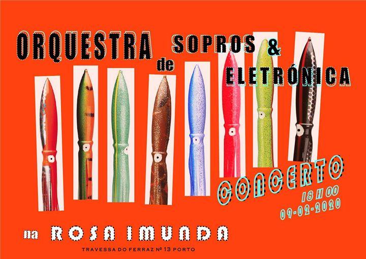 Orquestra de Sopros & Electrónica// Concertuhhhhh