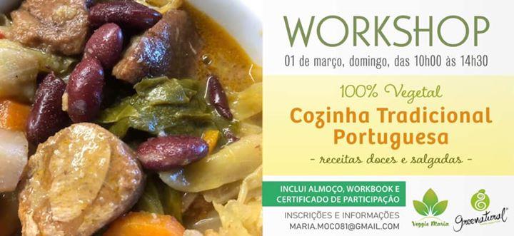 Cozinha tradicional portuguesa 100% vegetal
