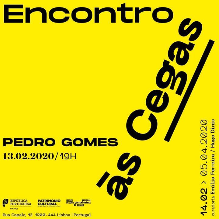 """Encontro às Cegas"" Pedro Gomes"