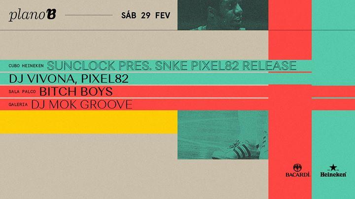 Sunclock pres. SNKE Pixel82 release: Dj Vivona, Pixel82