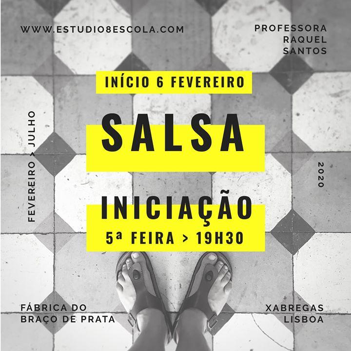 ★Estúdio 8 - Aula de Salsa na Fábrica Braço de Prata★