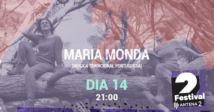 Festival Antena 2 | Maria Monda, apresentação do disco