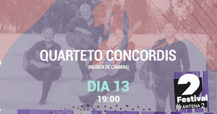 Festival Antena 2 | Quarteto Concordis
