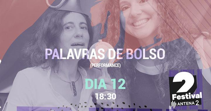 Festival Antena 2 | Palavras de Bolso