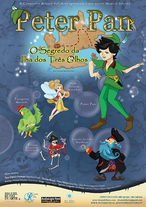 Musical Peter Pan no cae da Figueira da Foz