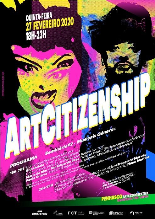 Seminário ArtCitizenship #2 – Musicais Géneros