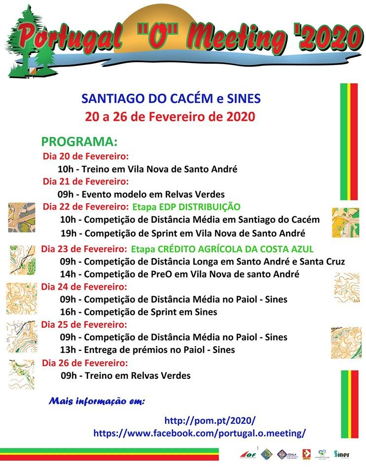 """Portugal """"O"""" Meeting 2020"""