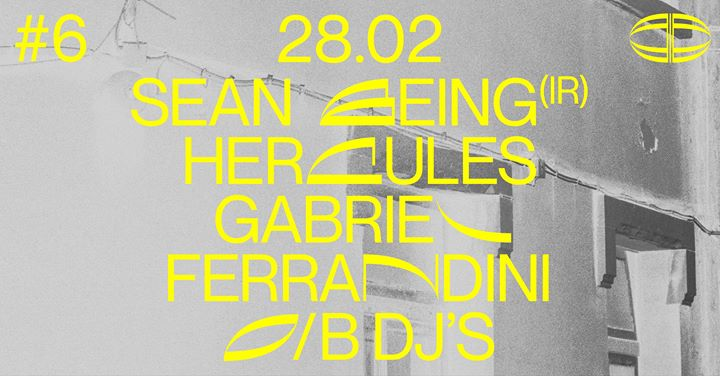Arraial#6 | O/B DJs / Gabriel Ferrandini / Hercules / Sean Being