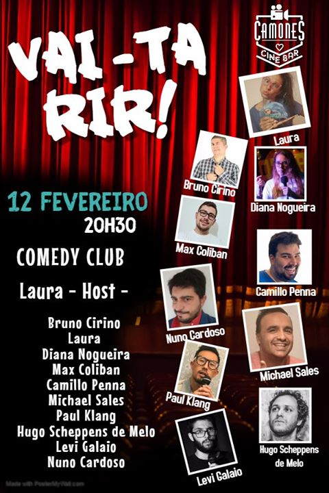 Vai-ta Rir - Comedy Club