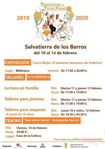 Caminos de Tinta y Papel en Salvatierra de los Barros
