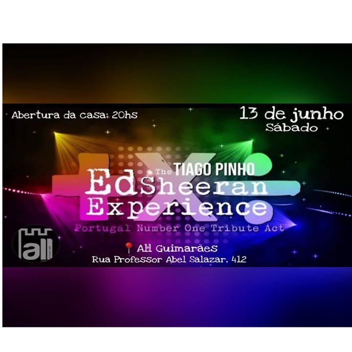 Ed Sheeran Experience Com Tiago Pinho