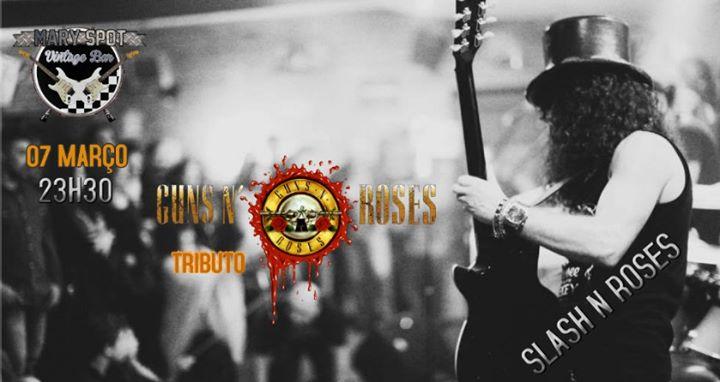 Slash N Roses tributo Guns N Roses