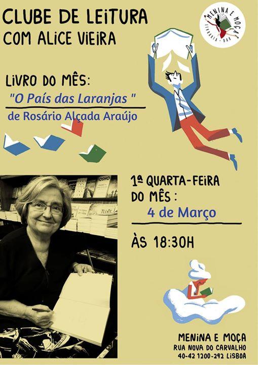 Clube de Leitura com Alice Vieira