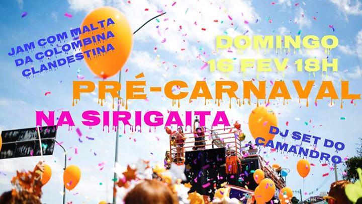 Pré-Carnaval na Sirigaita