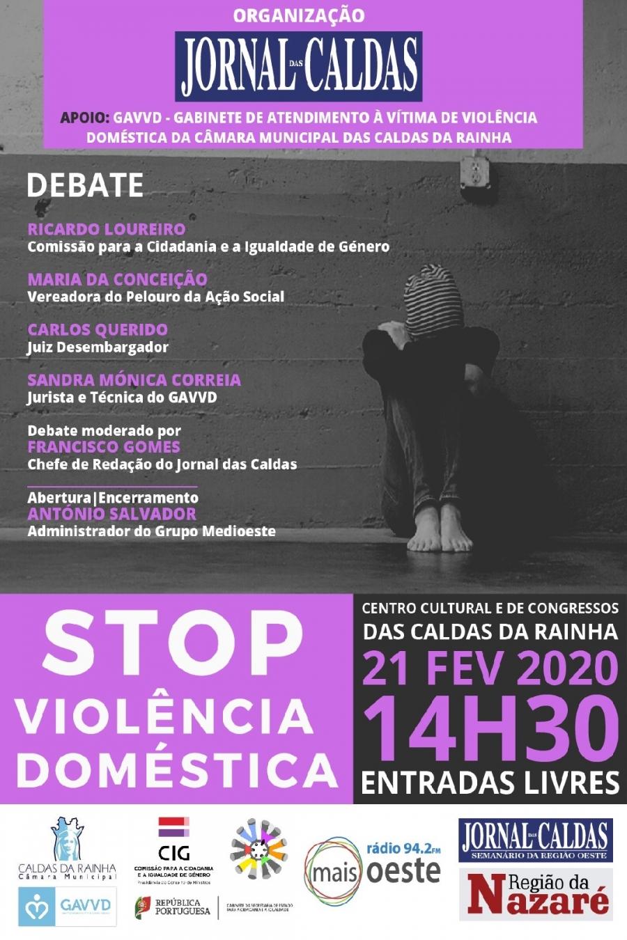 Debate: STOP Violência Doméstica