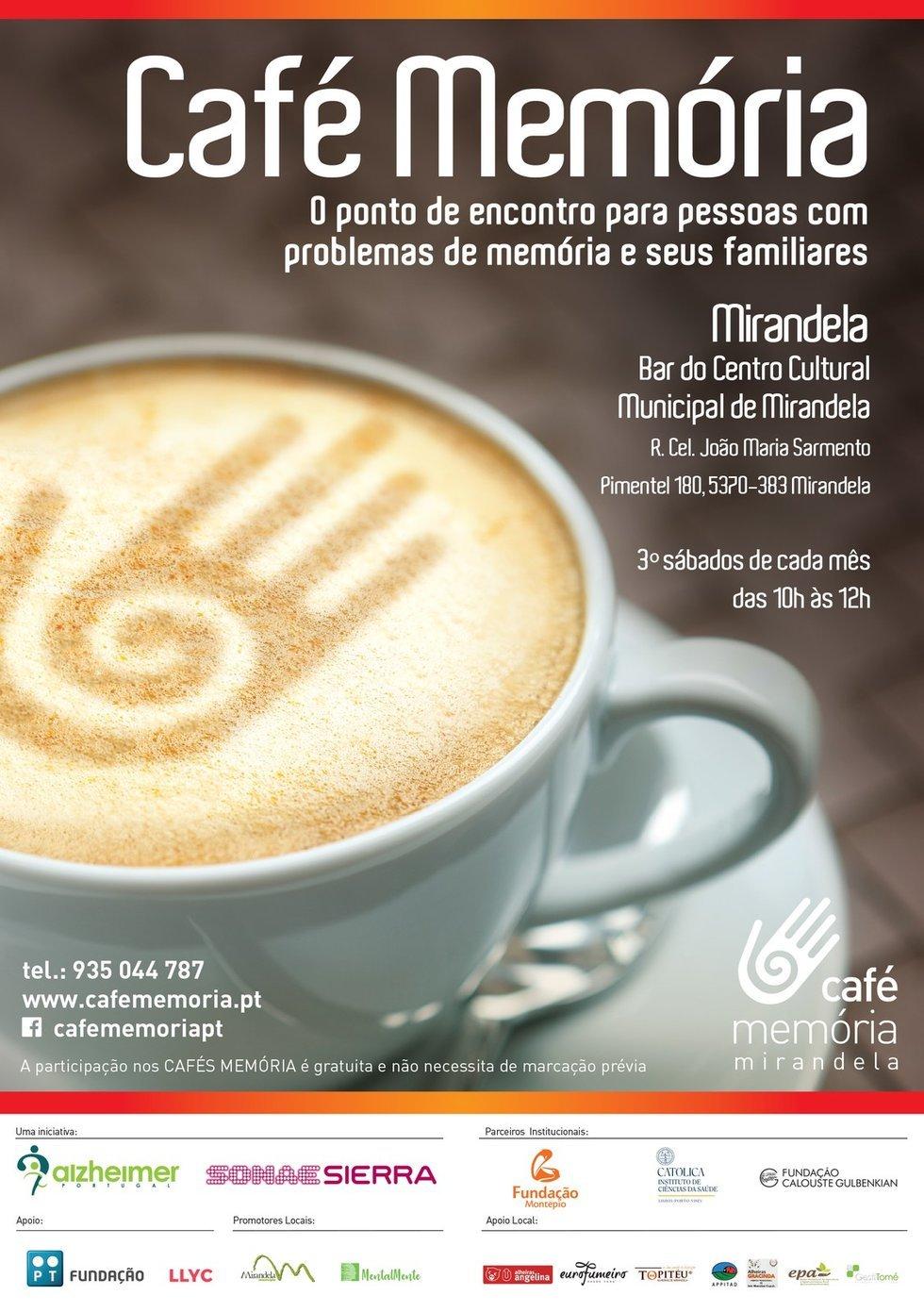 Café Memória - Fevereiro 2020