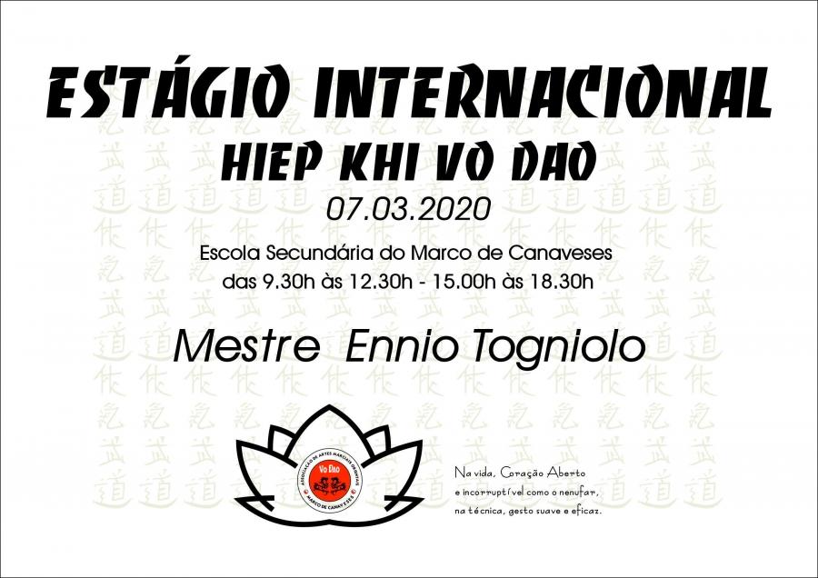 ESTAGIO INTERNACIONAL DE HIEP KHI VO DAO