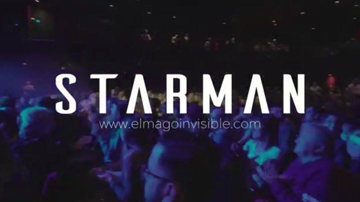 Dakris, el Mago Invisible, estrena nuevo espectáculo: Starman