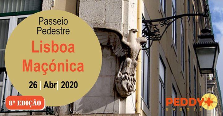 Percurso Pedestre 'Lisboa Maçónica' (8ª Edição)