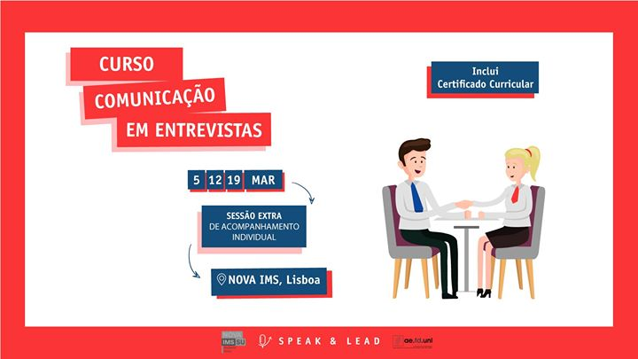 Curso Comunicação em Entrevistas - Lisboa - Nova IMS