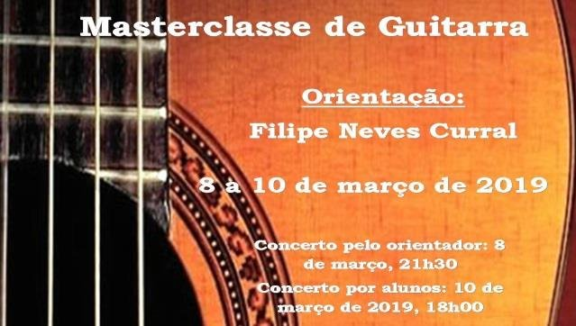 Master-Classe de Guitarra e Concertos