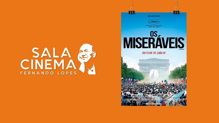 Os Miseráveis - Cinema Fernando Lopes