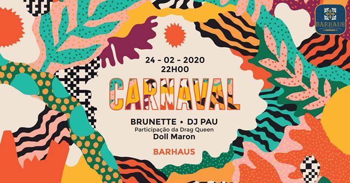 Carnaval no Barhaus 2020