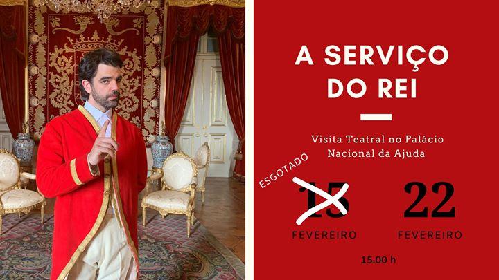 A Serviço do Rei - Visita teatral no Palácio Nacional da Ajuda
