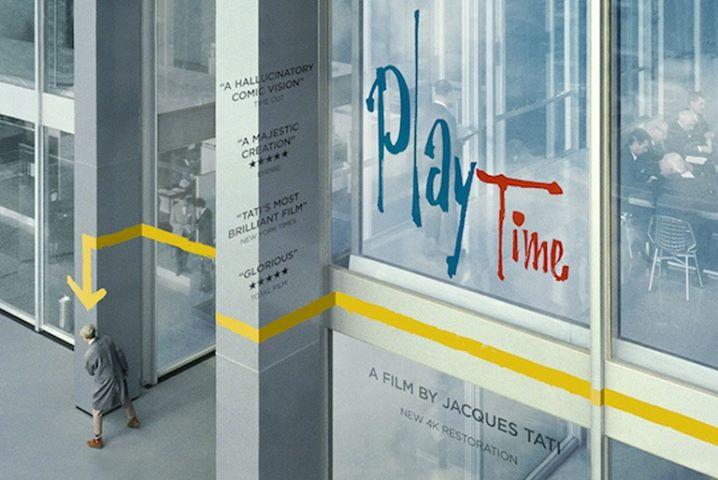 Playtime, de Jacques Tati, exibição especial, no Porto