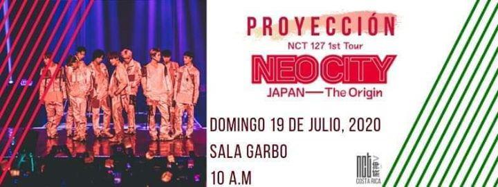 Proyección NCT 127 NEO CITY ~ JAPAN