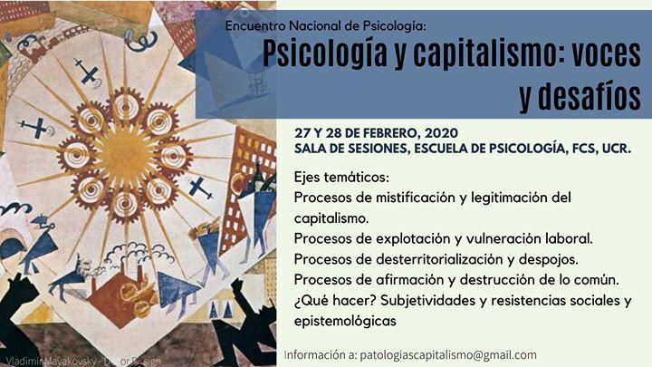 Encuentro Nacional de Psicología y Capitalismo: voces y desafíos