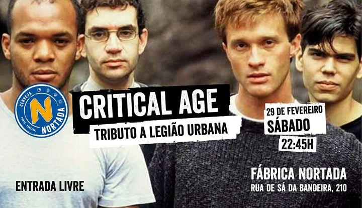Critical Age - Fábrica Nortada