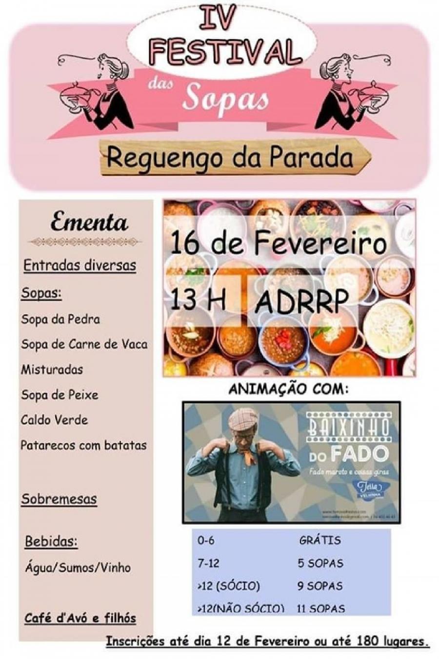 Festival das Sopas - Reguengo da Parada