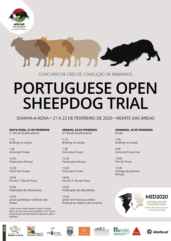 Portuguese Open Sheepdog Trial 2020