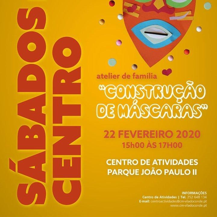 Atelier de máscaras de Carnaval