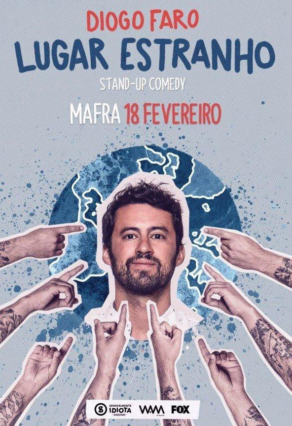 Stand Up Comedy 'Lugar Estranho - Diogo Faro'