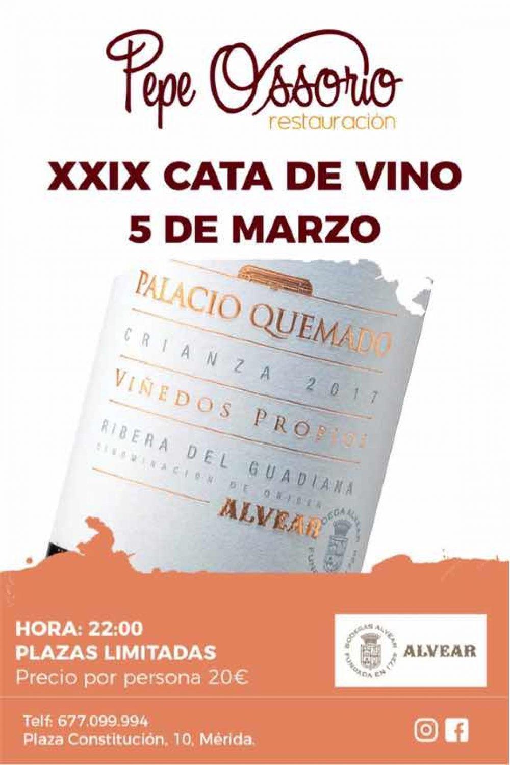 XXIX Cata de vino