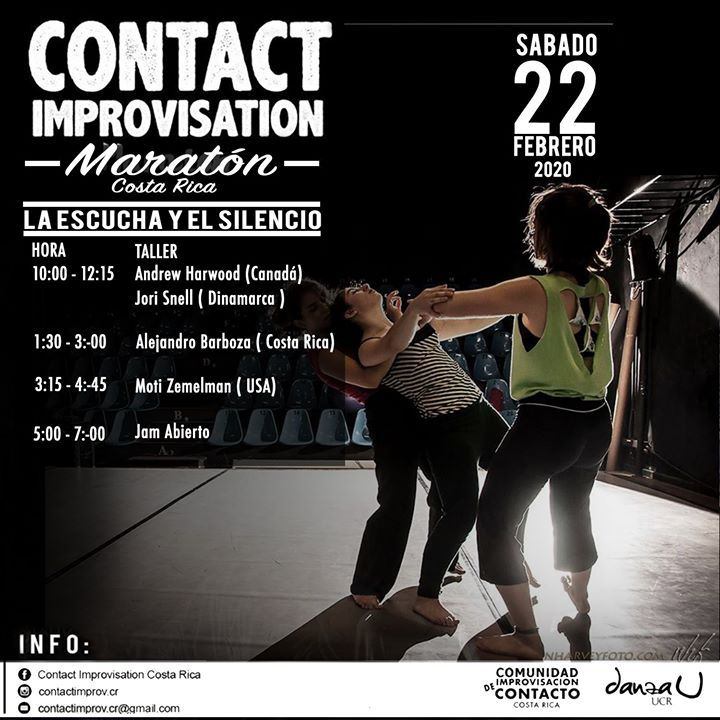 Maratón de Contact Improvisation CR 2020
