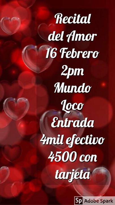 Recital Del Amor.