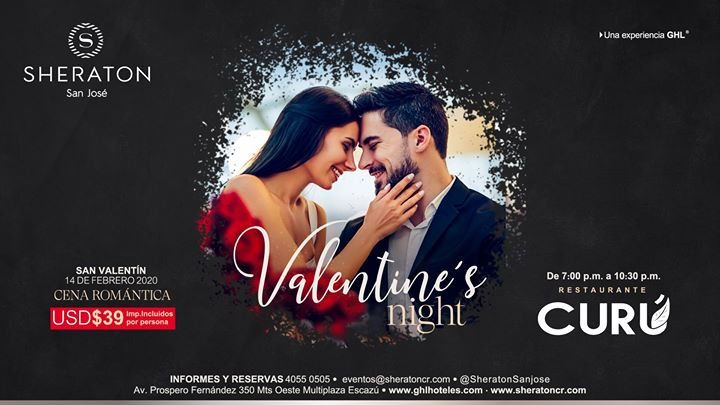 San Valentin #HotelSheratonSanJosé