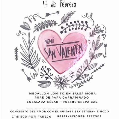 Concierto y Cena del Amor y la Amistad Albricias Coffe & Art