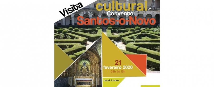 Inscrições | Visita Cultural ao Convento de Santos-o-Novo