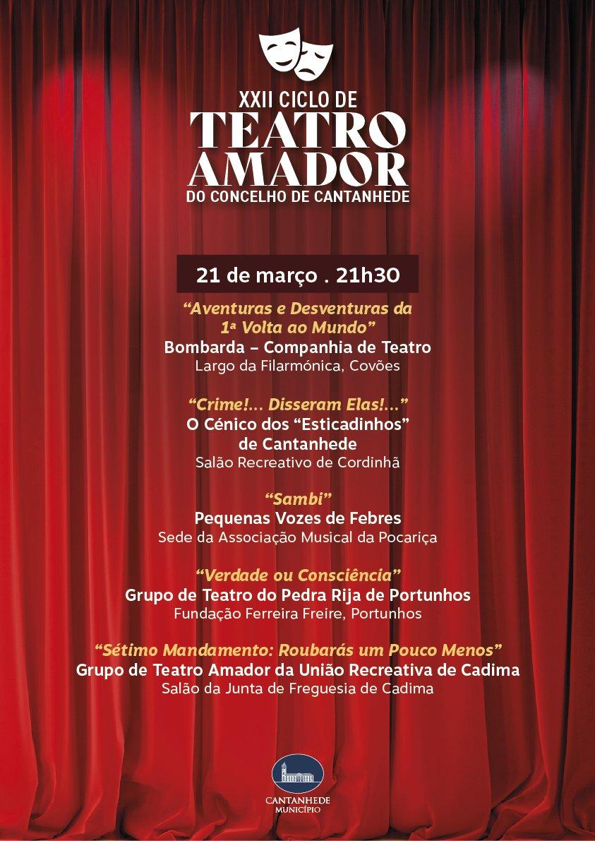 XXII Ciclo de Teatro Amador do Concelho de Cantanhede