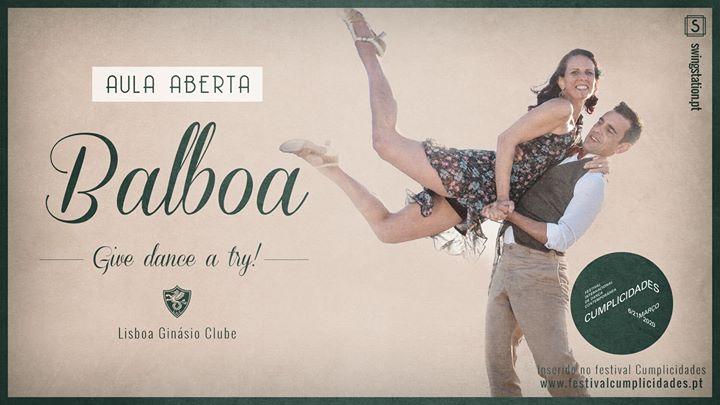 Aula Aberta • Balboa • Festival Cumplicidades