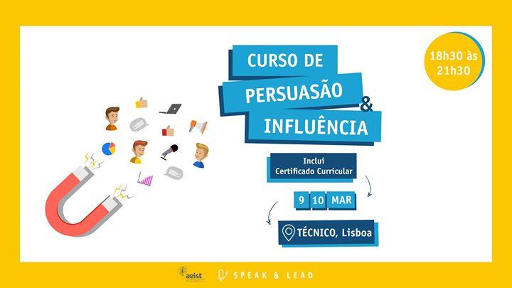 Curso Persuasão & Influência - Lisboa - IST
