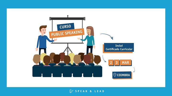 Curso Public Speaking - Coimbra
