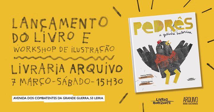 Apresentação do Livro Infantil 'Pedrês' e Workshop de Ilustração