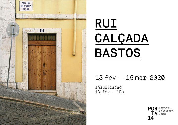 Inauguração PORTA 14 | Rui Calçada Bastos