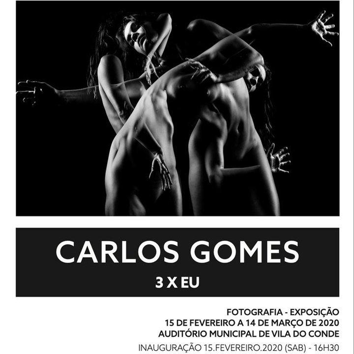 Foto VC - 3 X EU de Carlos Gomes