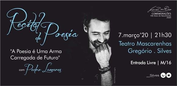 Recital de Poesia com Pedro Lamares